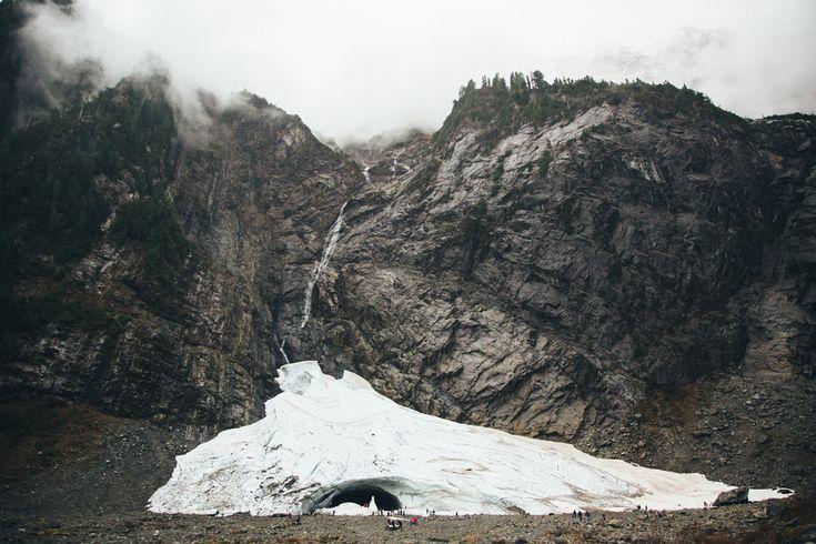 big four ice caves // washington // by Paige Jones