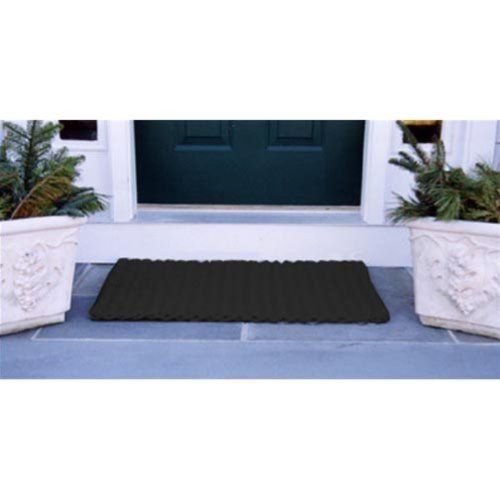Cape Cod Black Doormat Size - Deck Doormat-40L x 22W inches by Cape Cod Doormats. $76.99. Traps dirt, sand, and snow. Reversible. Black, 100% polypropylene. Choice of sizes. Quick-drying and stain-resistant. The Cape Cod Black Doormat is a classic color that is ideal for a front or back door. Made of durable polypropylene, this doormat is stain-resistant and quick-drying, making it ideal for any home. The choice of sizes accommodates all styles of porches, decks, a...