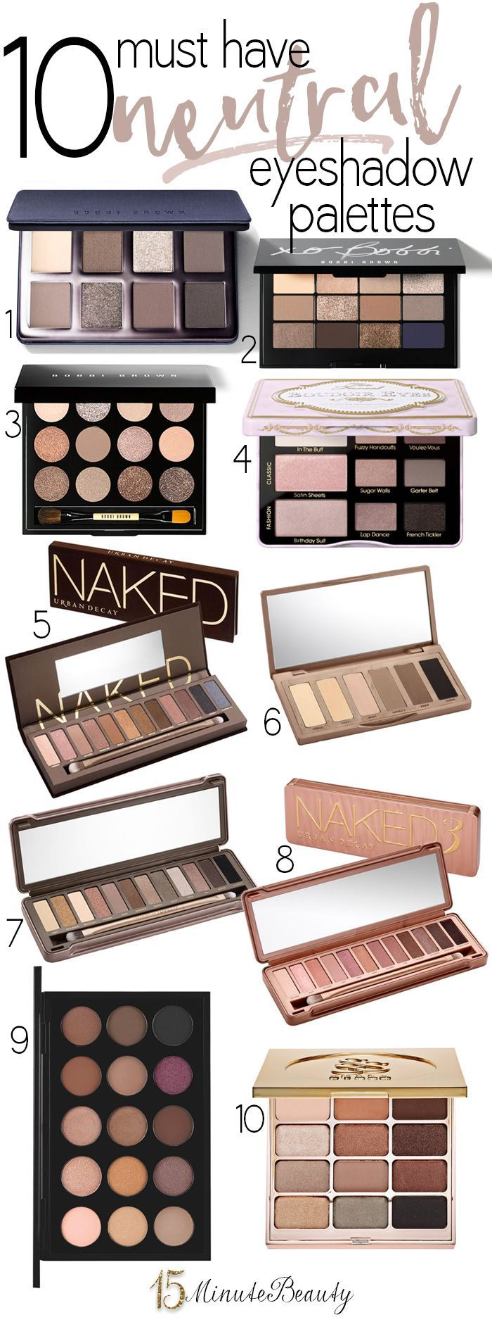 The Best Neutral Eye Shadow Palettes for Fall