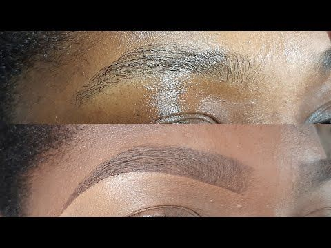 beginner friendly brow tutorial/ how to draw natural
