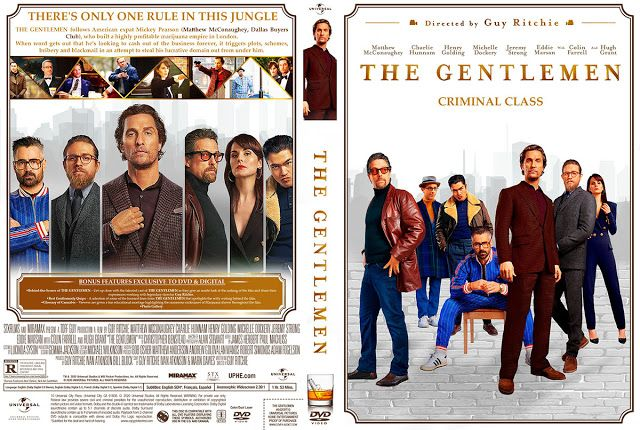 The Gentlemen DVD Cover in 2020 | Dvd covers, Movie blog ...