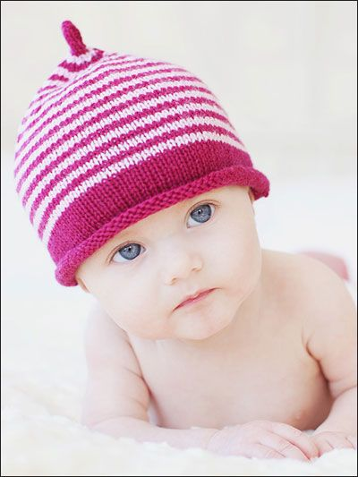 The 80 Best Baby Hats Knit Beanies Striped Images On Pinterest