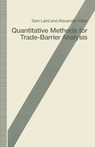Quantitative Methods for Trade-Barrier Analysis