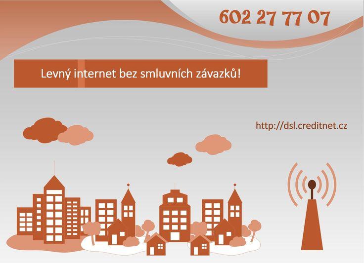 Předplacený internet na dobu neurčitou! http://www.creditnet.cz