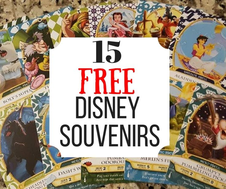 Bet you didn't know there are FREE Disney World Souvenirs! And they are good ones too!