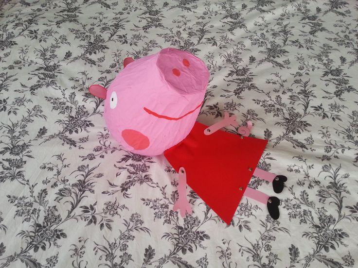 TUTORIAL: PIGNATTA di PEPPA PIG (-DIY-)