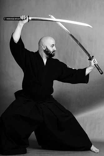 Double Swords - very cool and very difficult to learn. We will be delving into this as we train on The Servant Warrior Website - http://www.theservantwarrior.com