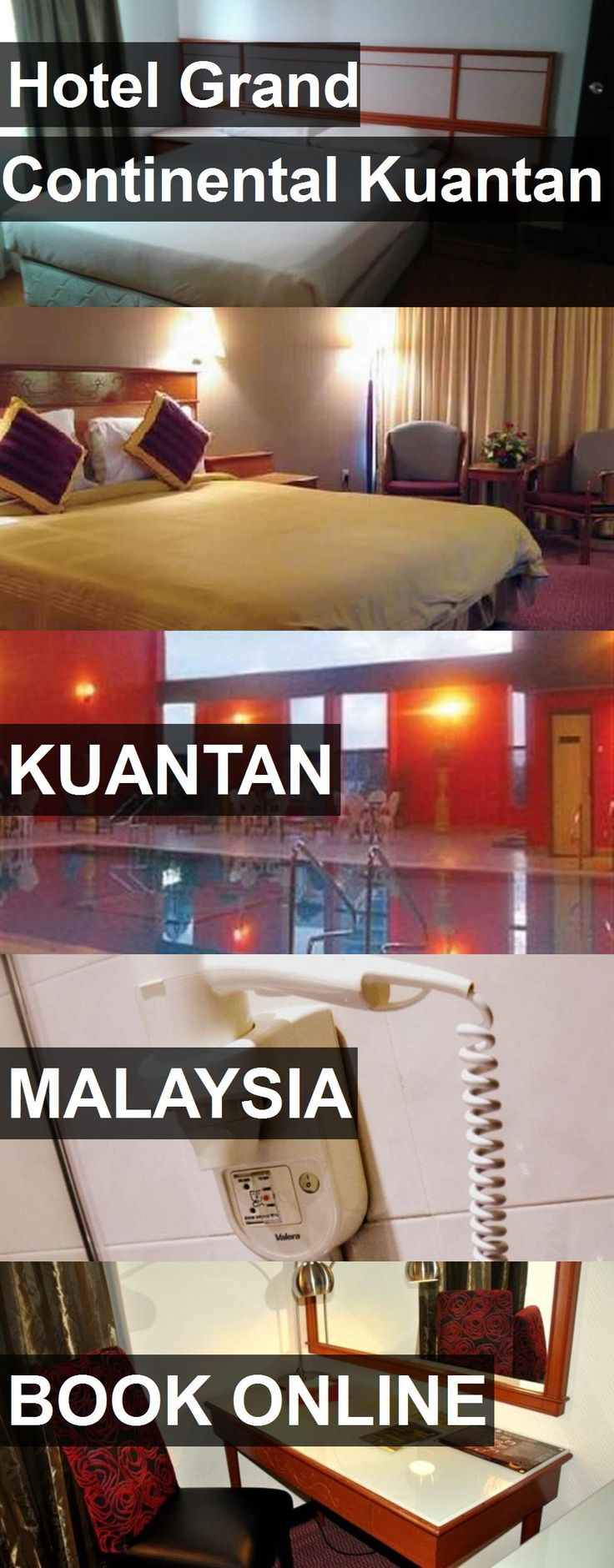Hotel Grand Continental Kuantan in Kuantan, Malaysia. For more information, photos, reviews and best prices please follow the link. #Malaysia #Kuantan #travel #vacation #hotel