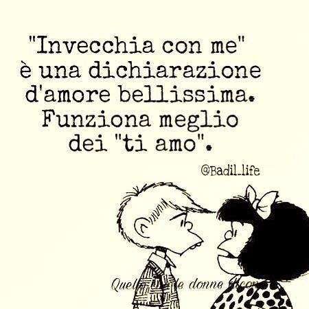 Voglio invecchiare con te accanto. Punto. ❤️ #amoremioooo