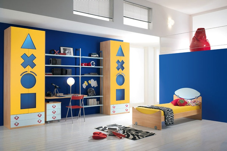 A #room playful and fun, that transmits joy and serenity, suitable for children