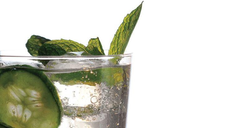 Cucumber, Mint, and Basil Soda Recipe
