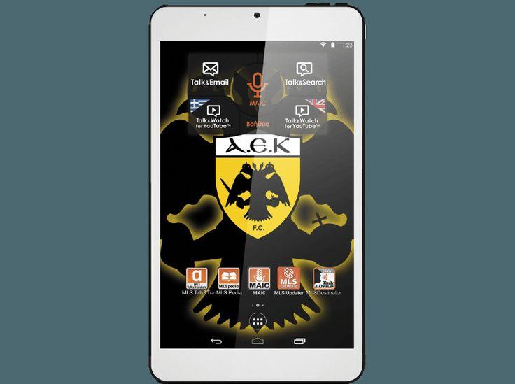 Τώρα το tablet έχει τα χρώματα της αγαπημένης σου ομάδας! Για εσένα που είσαι οπαδός των δικεφάλων, ΑΕΚ ή ΠΑΟΚ, το  MLS FanTab Android Tablet είναι το απόλυτο gadget! Έρχεται με προεγκατεστημένες τις επίσημες εφαρμογές των ομάδων, για να λαμβάνεις πρώτος τα σημαντικά νέα τους και για να έχεις πρόσβαση σε wallpapers και άλλα πολλά! #mediamarkt #tablet #tablets# #gadget #gadgets #onlinestore #offers #MLS