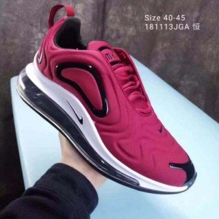 076c4b5a95d24 Mens Winter Nike Air Max 720 Running Shoes Wine red black white NIKE ...