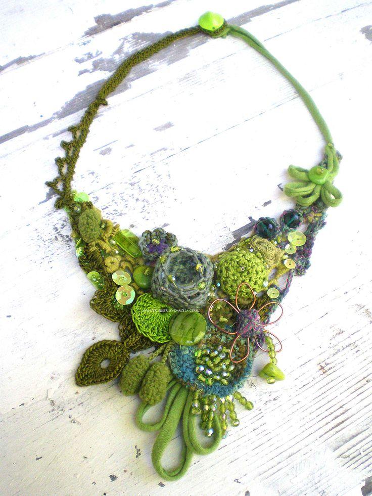 Collier Green By Daniela Cerri