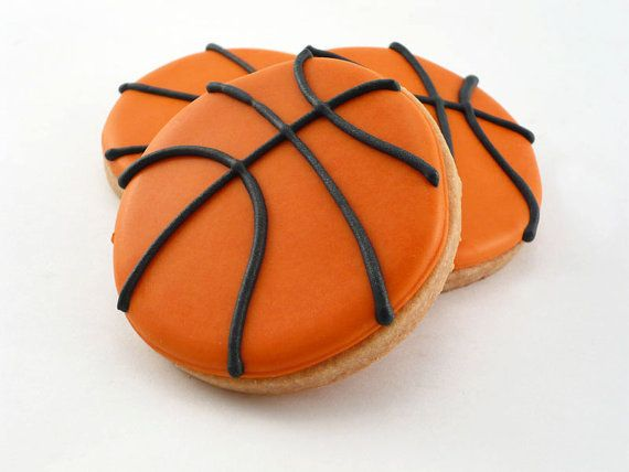 Who Wants To Bake Some For The Home Opener?: Cookies Ideas, Basketball Cookies, Best Cookies Ever, Basketball Birthday, Decor Cookies, Marching Mad, Basketball Parties, Grooms Cakes, Birthday Cakes