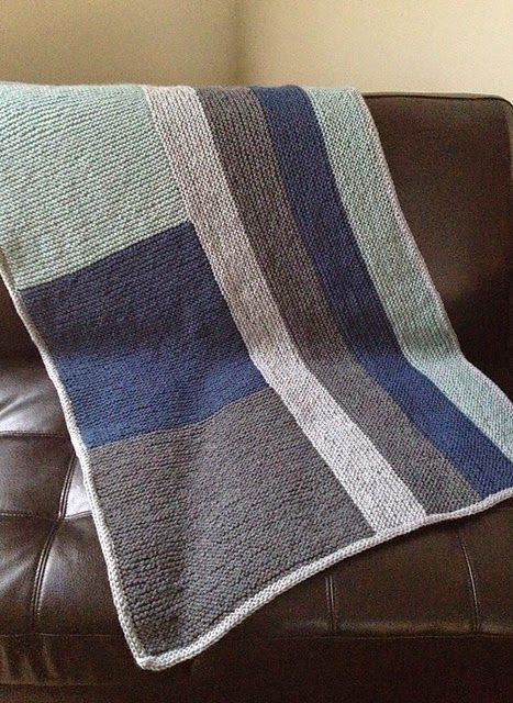 b513e221c This simple blanket pattern uses log cabin techniques to create a cozy  keepsake for the modern crib or stroller. Make one for a small huma…