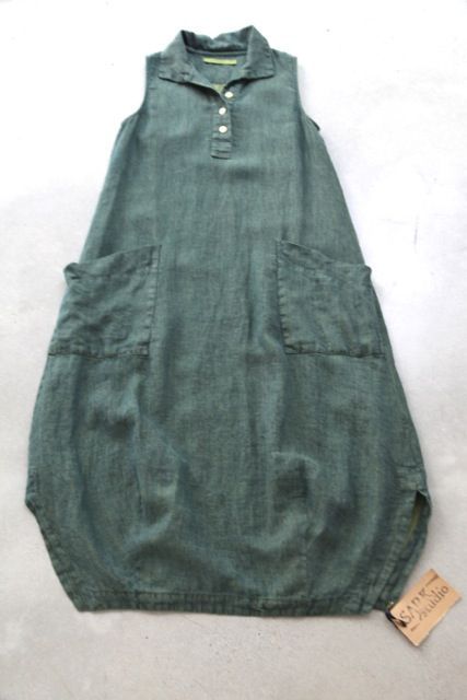Collared bell dress www.sarkstudio.com.au