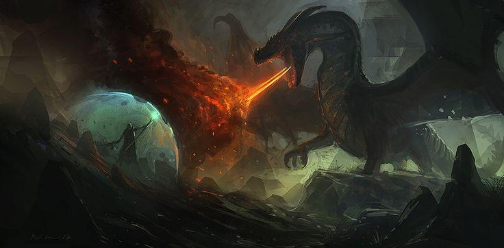 Dragon by SaeedRamezani.deviantart.com on @deviantART