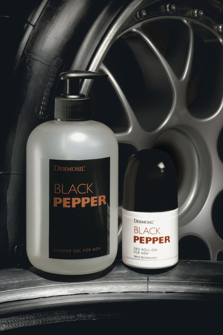 Man Shower Gel Black Pepper & Man Deo Black Pepper