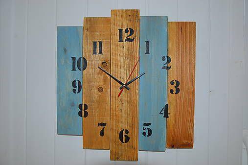 PalletWood / Drevené hodiny