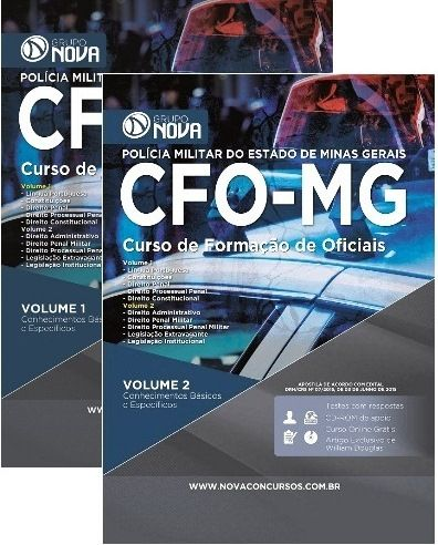 O conteúdo da Apostila para o concurso Apostila CFO - MG 2015 - Curso de…
