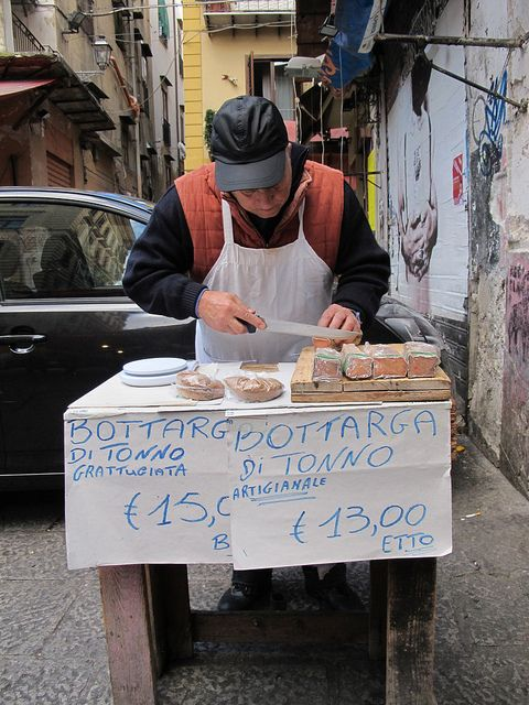 The bottarga man; Palermo, Sicily #bbpalermocentro #palermocheapaccomodation www.piccolasicilia.it