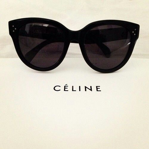 Celine sunglasses.