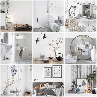 Oktober ♡ Na een heerlijk weekend vandaag weer een productief dagje gewerkt! Op naar een nieuwe maand. Fijne avond allemaal! #interior4all_collage