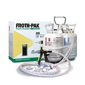 Froth Pak 200 1 75 Pcf Sealant 1 Quot A Quot Amp 1 Quot B Quot Component