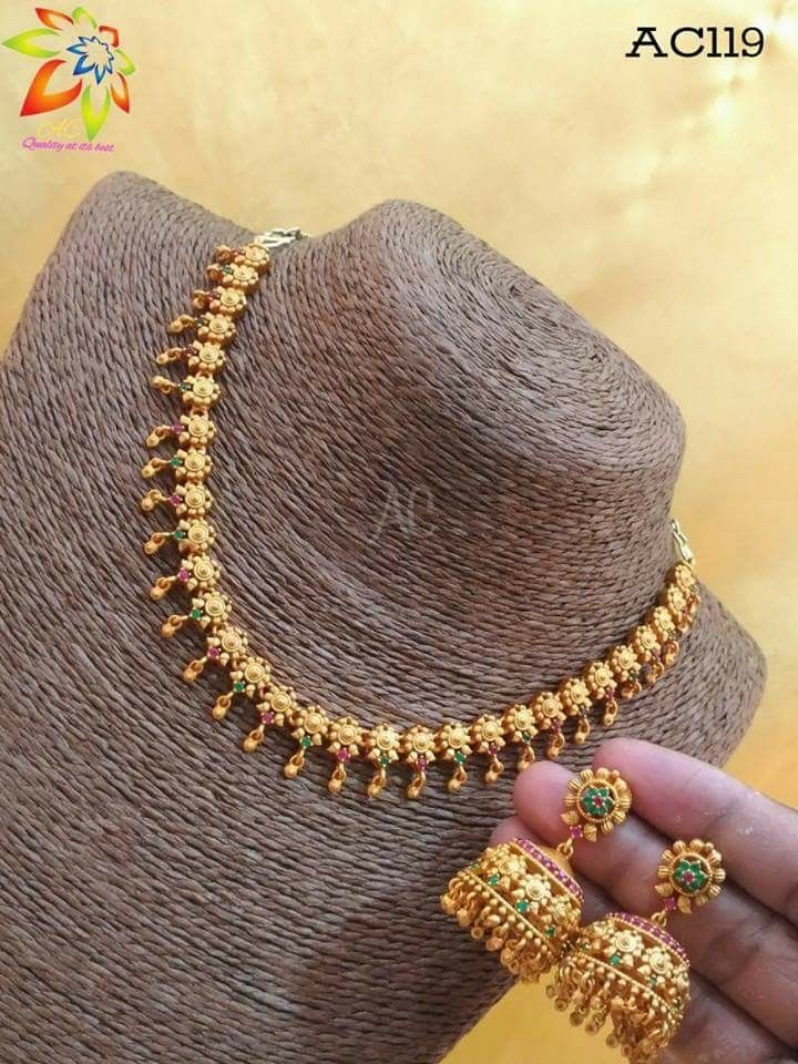 Neck Piece Gold Jewellery Design Necklaces Gold Jewelry