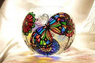 Расписные вазы Colors.life.