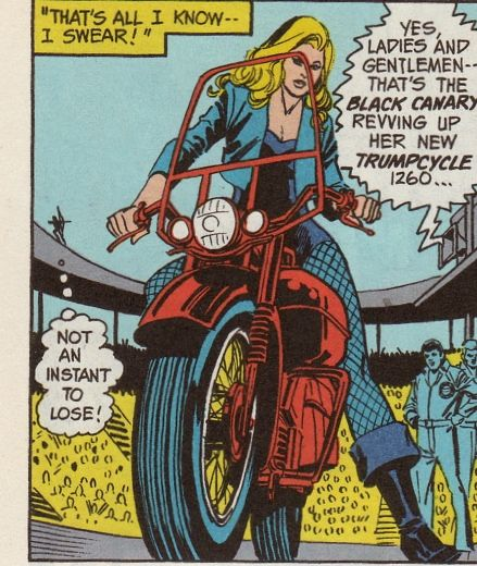 Where the Wonder Women Are #1: Black Canary