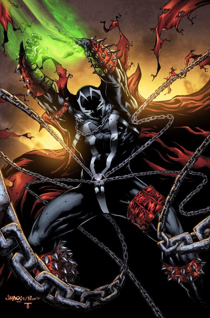 Spawn Is A Fictional Character Comic Book Superhero That Appears In Monthly
