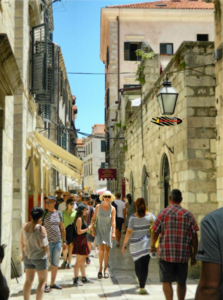 Dubrovnik Old City, Croatia, Nikon Coolpix L310, 10.2mm, 1/640s, ISO80, f/3.8, HDR-Art photography, 201607081239