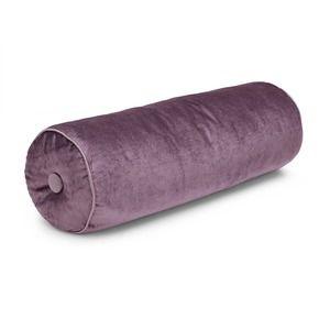 Nigella Grape Velvet Bolster Cushion