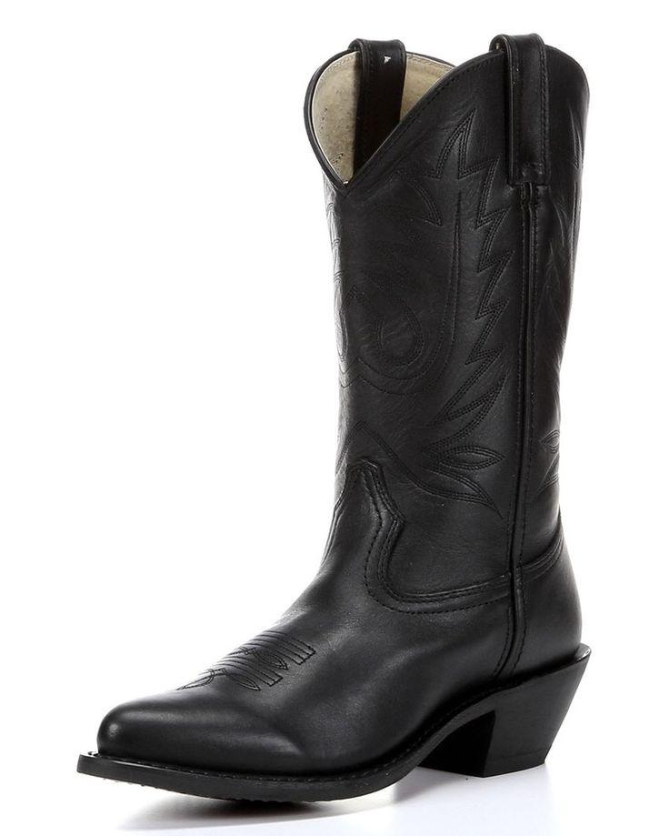 "Women's 11"" Western Boots, Wild Black"