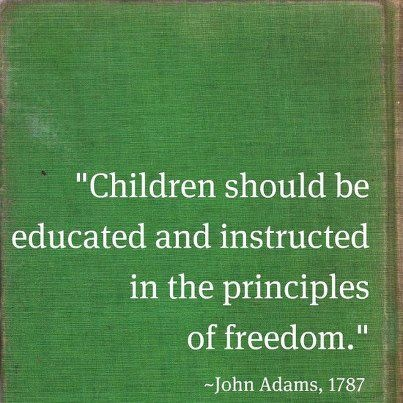 Another inspiring quote from John Adams.