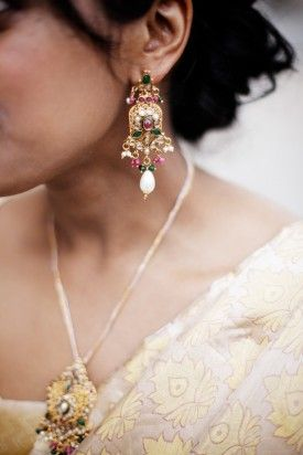Indian Wedding Jewelry 275x412 Book Themed Wedding Reception at Baltimore Library: Angy + Michael
