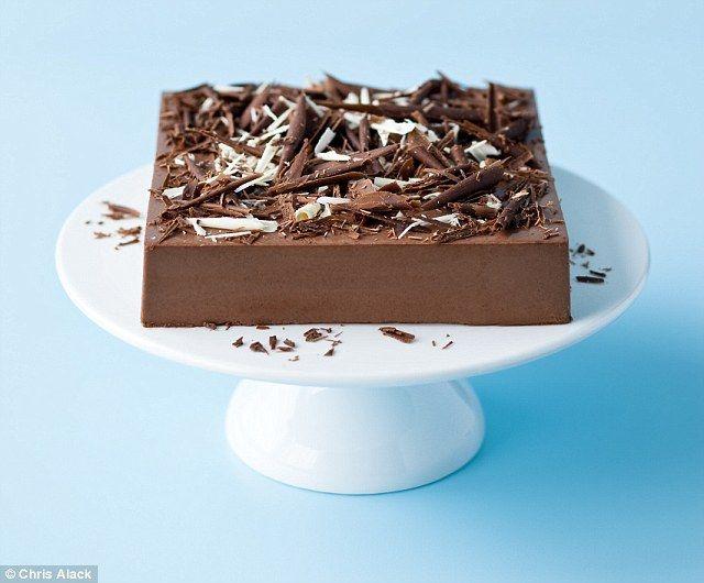 Double Chocolate Blancmange