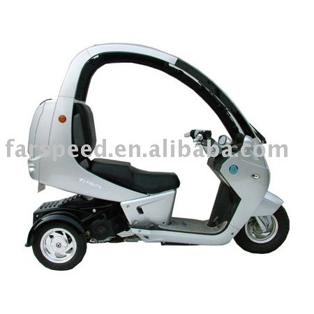 Three Wheels With Cover Eec Scooter Gas Scooter Motor