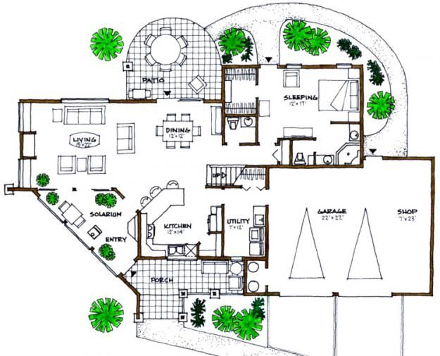 18 best images about home architecture on pinterest for Solar house plans