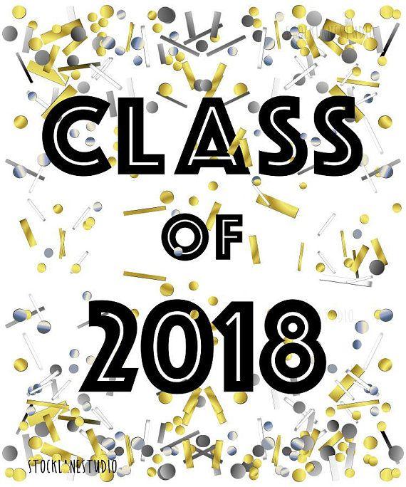 Senior Class of 2019 Printable, Graduation Party decorations, Sign