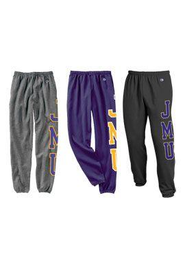 James Madison University Sweatpants   James Madison University