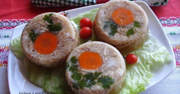 Wielkanoc - Galareta drobiowa z udek kurczaka. Szybka, smaczna, świąteczna :)