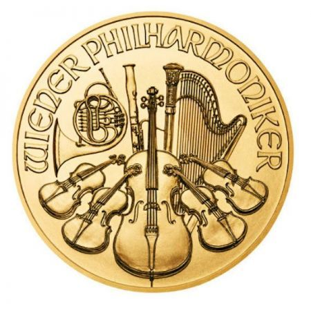 Αυτό το εντυπωσιακό ολόχρυσο νόμισμα έχει ονομαστική αξία 4 ευρω έχει αγαπηθεί σε όλο τον κόσμο για την περιεκτικότητα του σε ΚΑΘΑΡΟ ΧΡΥΣΟ 1/25 ουγκιάς  Το #1 GOLD CLASSIC Αυστρία -Vienna Philharmonic.  CoinsClub.gr