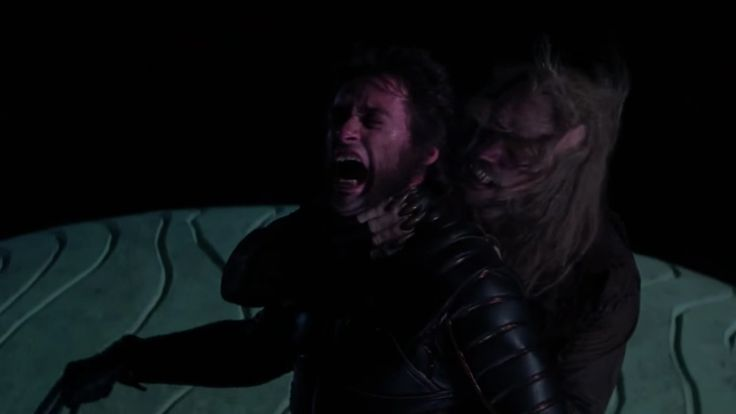 """'X-Men': Original Sabretooth on Hugh Jackman's Legacy and Why He Didn't Return to the Franchise  Actor Tyler Mane also recalls his memorable audition for director Bryan Singer: """"He jumped up on the coffee table and asked me to choke him.""""  read more"""