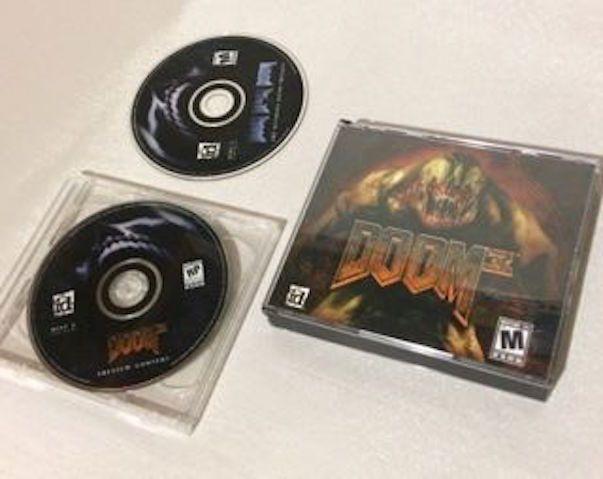 Doom Trilogy + Doom 3 (PC, 2004) The Ultimate Doom Computer Game Video Games