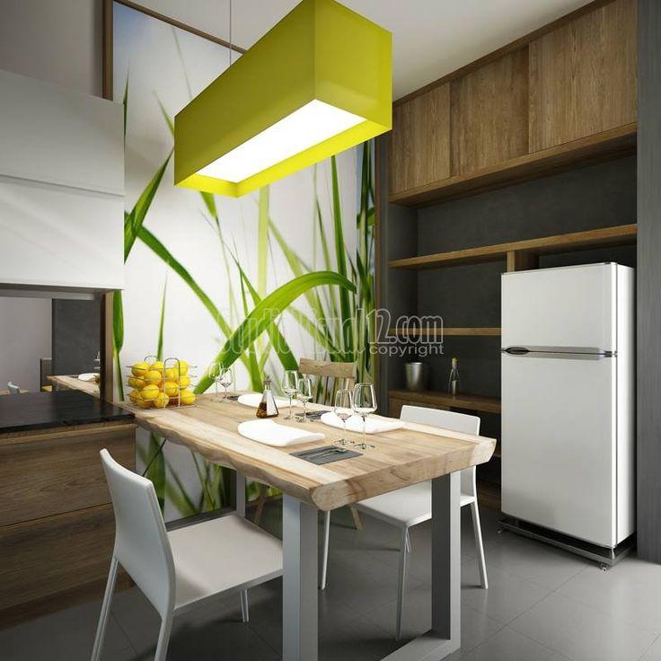 Desain Ruang Makan Rumah Modern Minimalis Bergaya Resort