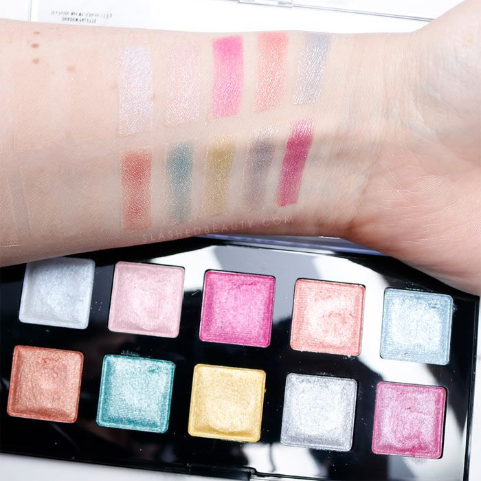 If you're loving the shades in the NYX I Love You So Mochi Electric Pastels eyeshadow palette, you might wanna check out these swatches first. Read the review before you buy!   Slashed Beauty