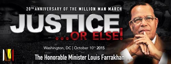 I WAS THERE FOR THIS HISTORIC DAY....#Thousand Gathered for #MillionManMarch #20thAnniversary in #WashingtonDC #Saturday #October10th #2015  Black men and women from around the #nation was gathered on the #NationalMall to celebrate the 20th anniversary of the Million Man March and call for policing reforms and changes in black communities. Waving flags, carrying signs and listening to speeches and songs, the crowd wove their way through security barricades and souvenir vendors at the U.S…